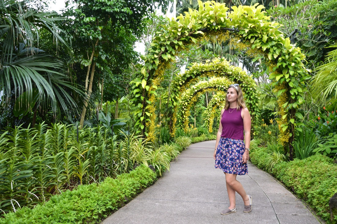 Botanical Gardens in Singapore. FREE to enter. // Out Of Office With Rebecca